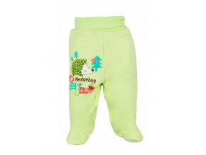 Dojčenské polodupačky Bobas Fashion Ježko zelené