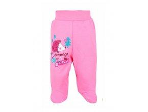Dojčenské polodupačky Bobas Fashion Ježko ružové