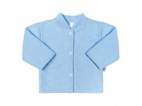 Dojčenský froté kabátik New Baby modrý
