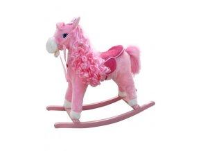 Hojdací koník s melódiou Milly Mally Princess pink