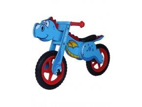 Detské odrážadlo-bicykel Milly Mally DINO blue
