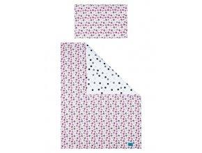 3-dielne posteľné obliečky Belisima Mačiatka 90/120 ružové