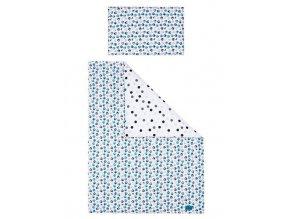 5-dielne posteľné obliečky Belisima Mačiatka 90/120 modré