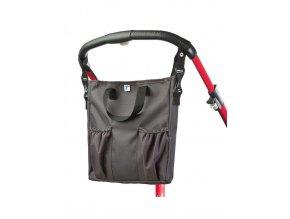 Taška na kočík CARETERO 2v1 graphite