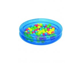 Detský nafukovací bazén Bestway s loptičkami modrý