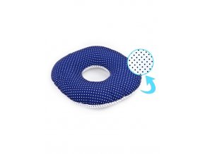 Popôrodný vankúš Sensillo modrý