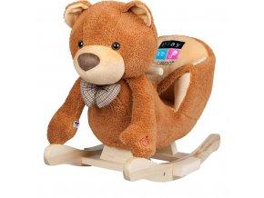 Hojdacia hračka s melódiou PlayTo medvedík hnedá