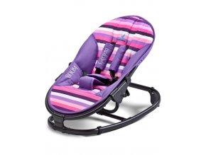 Detské lehátko CARETERO Boom purple
