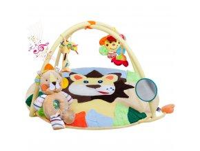 Hracia deka s melódiou PlayTo levíča s hračkou