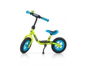 """Detské odrážadlo bicykel Milly Mally Dusty green 10"""""""