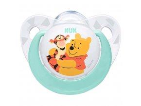 Dojčenský cumlík Trendline NUK Disney 0-6m mätový