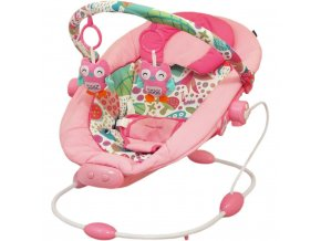 Detské lehátko Baby Mix dark pink