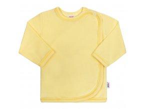 Dojčenská košieľka New Baby žltá