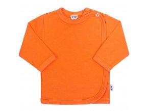 Dojčenská košieľka New Baby oranžová
