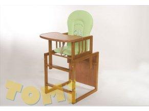 Detská jedálenská stolička 2v1 - Konrad IV