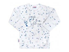 Dojčenská košieľka New Baby Magic Star modrá