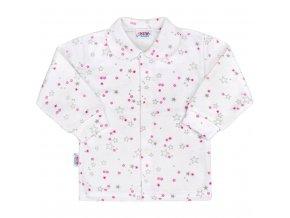 Dojčenský kabátik New Baby Magic Star ružový