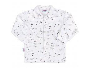 Dojčenský kabátik New Baby Magic Star sivý
