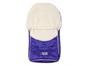 Zimný fusak New Baby Classic Wool violet