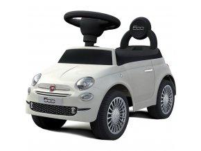 Odrážadlo Baby Mix FIAT 500 biele