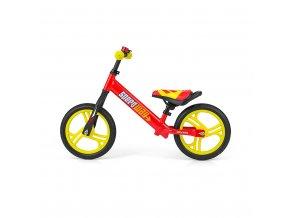 """Detské odrážadlo bicykel Milly Mally Speedway 12"""" red"""