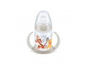 Dojčenská fľaša na učenie NUK 150 ml Disney Medvedík Pu-Tiger béžová