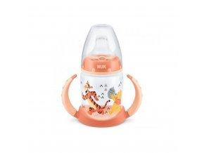 Dojčenská fľaša na učenie NUK 150 ml Disney Medvedík Pu-Tiger oranžová