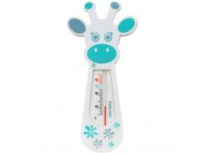 Detský teplomer do vaničky Baby Mix Žirafa white