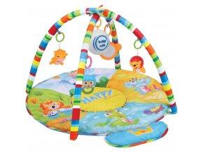 Hracia deka s hracím modulom Baby Mix safari