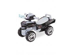 Odrážadlo štvorkolka Toyz miniRaptor sivé