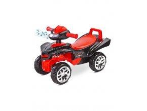 Odrážadlo štvorkolka Toyz miniRaptor červené