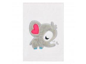 Detská deka Koala Animals biela