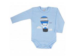 Dojčenské body  Bobas Fashion Mini Baby modré