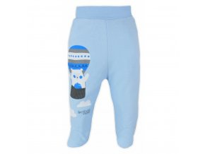 Dojčenské polodupačky Bobas Fashion Mini Baby modré