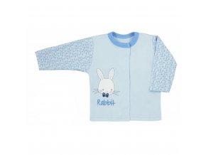 Dojčenský kabátik Koala Rabbit Magnet modrý