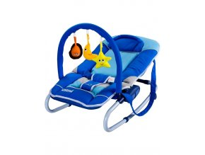 Detské lehátko CARETERO Astral blue