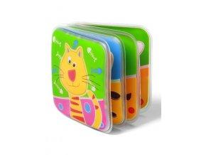 Detská pískacia knižka Baby Ono domáce zvieratká