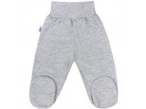 Dojčenské polodupačky New Baby Classic II sivé