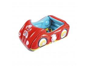 Detské nafukovacie autíčko Fisher-Price s loptičkami