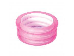 Detský nafukovací bazén Bestway Mini růžový