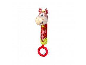 Plyšová pískací hračka s kousátkem Baby Ono koník