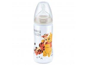 Dojčenská fľaša NUK Medvedík Pú 300 ml béžová