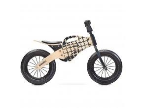 Detské odrážadlo bicykel Toyz Enduro 2018 natural