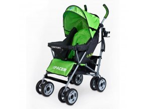 Golfový kočík CARETERO Spacer Classic green