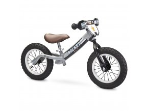 Detské odrážadlo bicykel Toyz Rocket grey