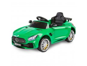 Elektrické autíčko Toyz Mercedes GTR - 2 motory green
