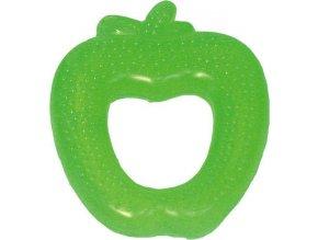 Chladiace hryzátko Baby Mix Jablko zelené