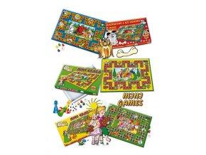 Stolná hra Mini Games Janko a Marienka
