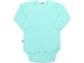 Dojčenské body New Baby Classic II mätové
