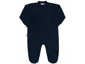Dojčenský overal New Baby Classic II tmavo modrý